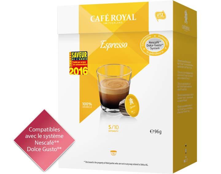 Capsules Café Royal Espresso