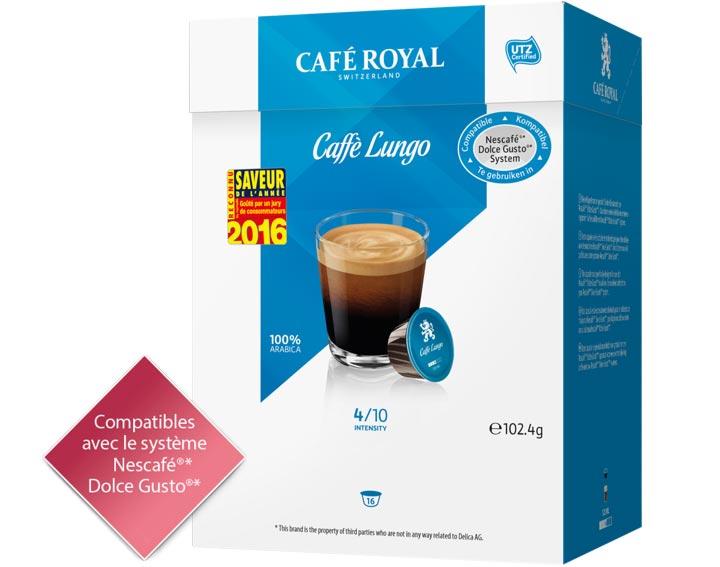 Capsules Café Royal Caffè Lungo
