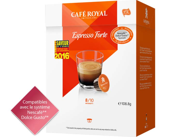Capsules Café Royal Espresso Forte