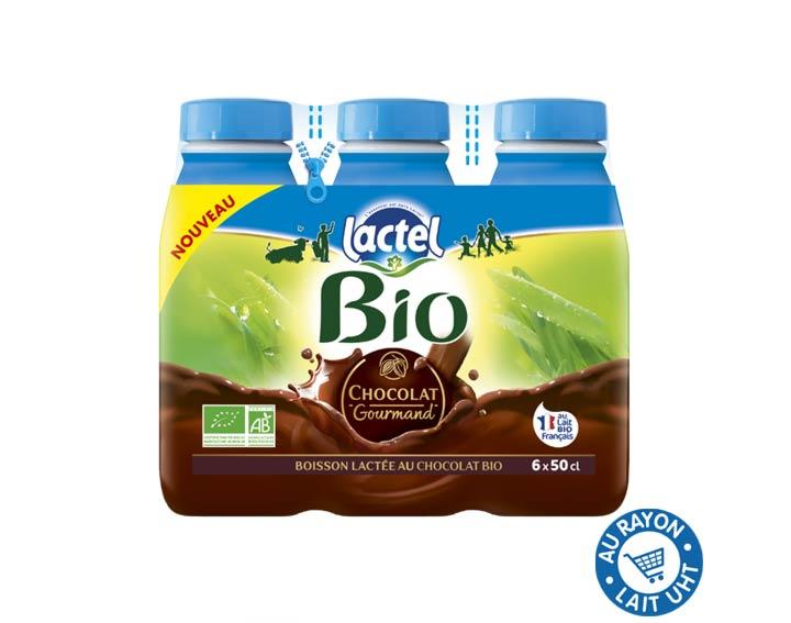 Lactel Bio Chocolat Gourmand 6x50cl