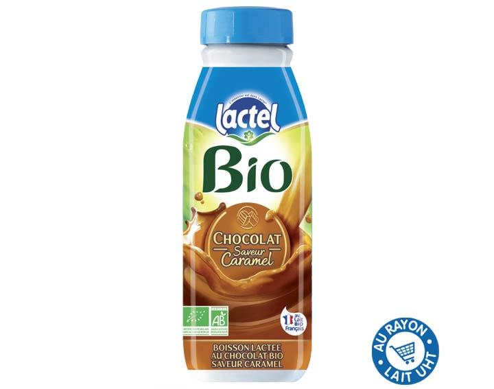 Lactel Bio Chocolat saveur Caramel 50cl