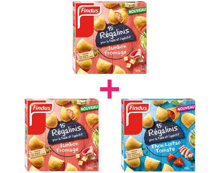 Le 3ème paquet de Régalinis OFFERT dès 2 achetés