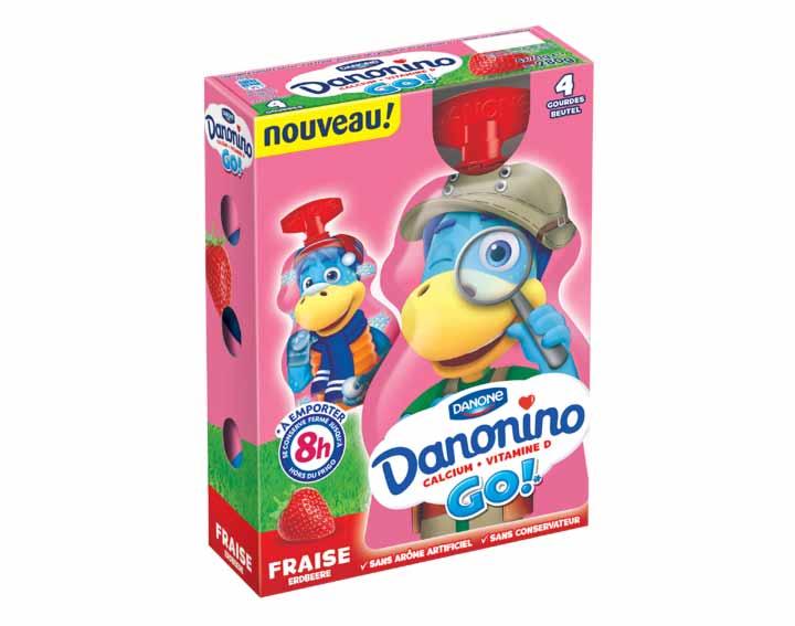 Danonino GO ! Fraise