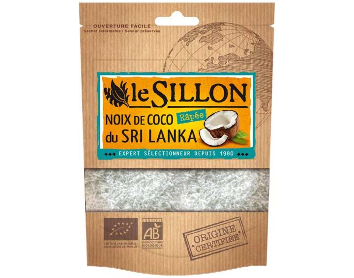 Noix de coco râpée du Sri Lanka