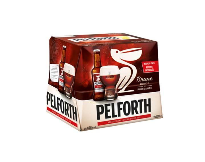 Pelforth Brune 12x25cl