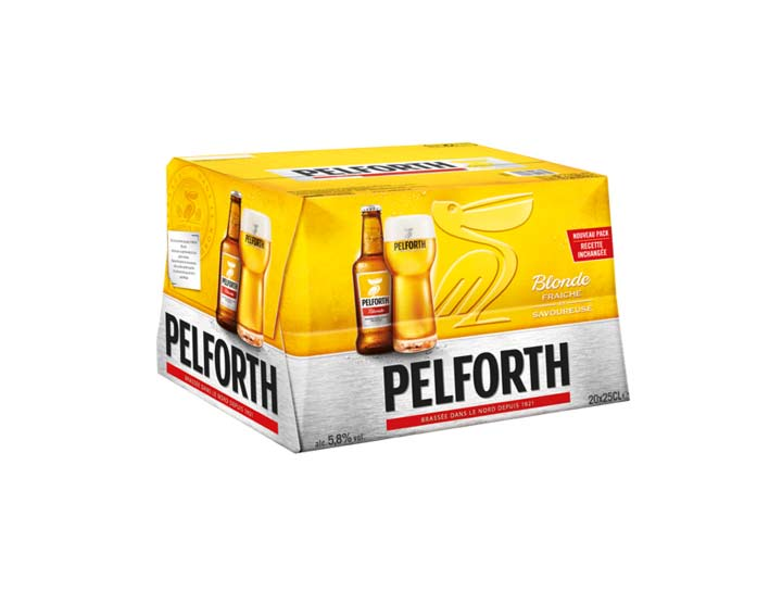 Pelforth Blonde 20x25cl