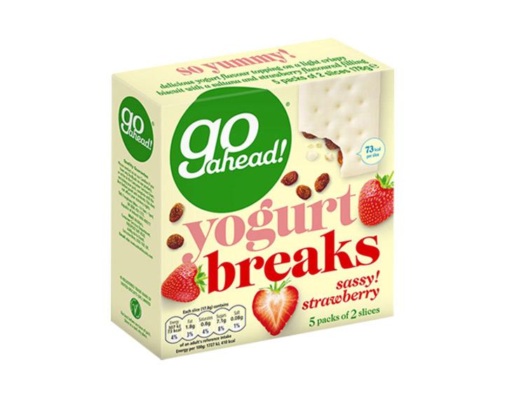 Strawberry - 5 packs of 2 slices 178g