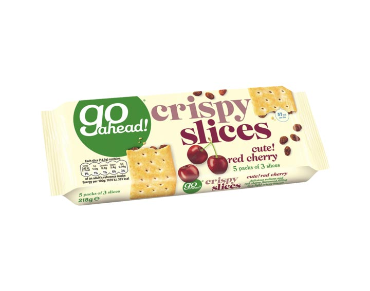 Red Cherry - 5 packs of 3 slices 218g