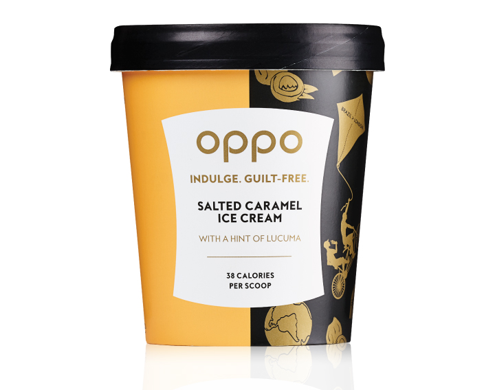 Salted Caramel with a hint of Lucuma