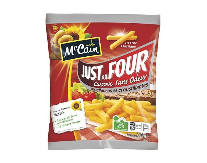 McCain Just Au Four La Frite Classique