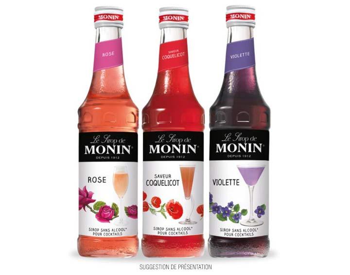 Rose, saveur Coquelicot ou Violette