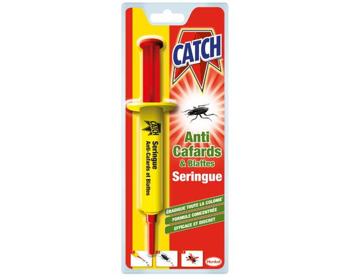 Gel Anti-cafard - seringue de 10g Catch