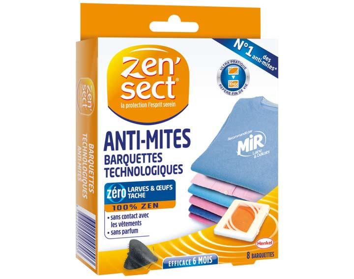 Zen'sect Anti-mites technologique - 8 barquettes