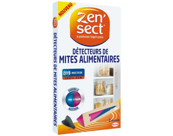 Zen'sect Détecteurs de mites Alimentaires - 2 détecteurs