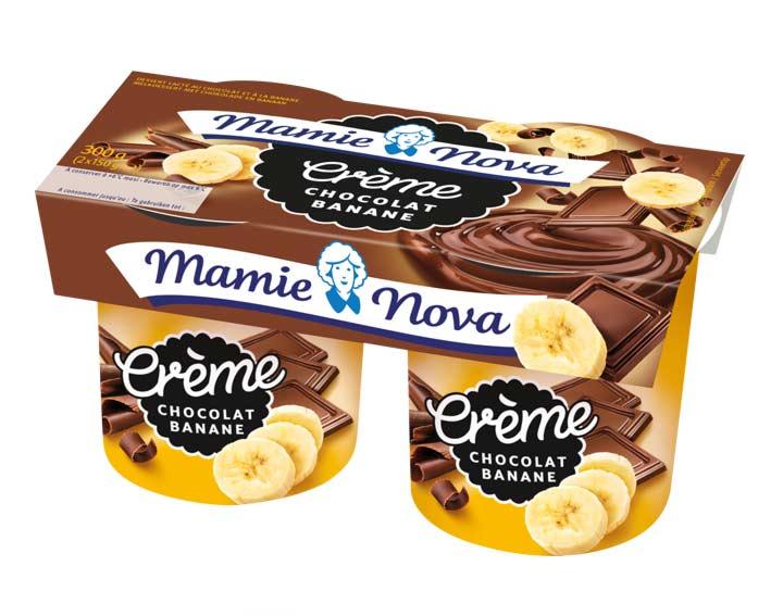 Crème Chocolat Banane