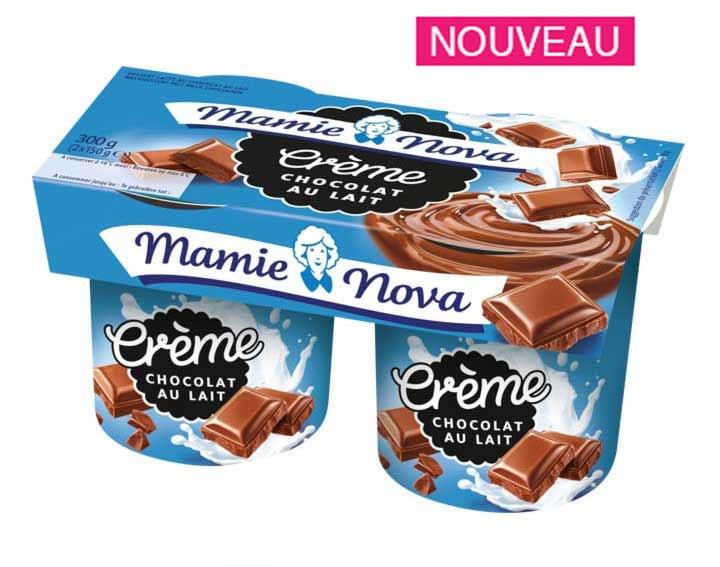 Crème Chocolat au lait