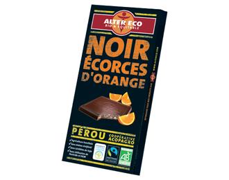 Noir écorces d'orange