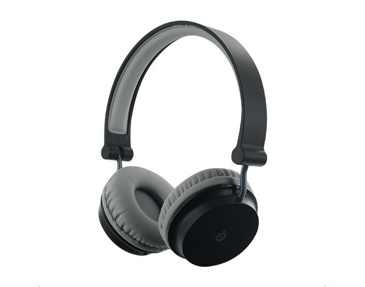 Casque Bluetooth Big Ben Noir et Gris