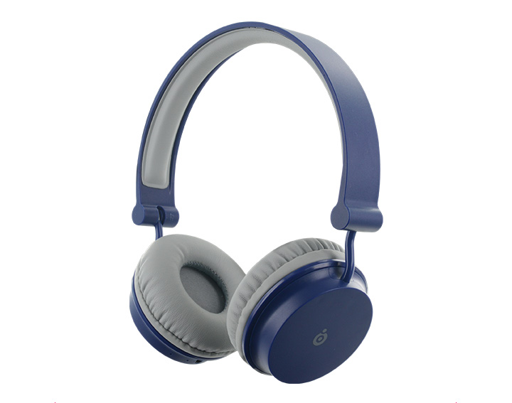 Casque Bluetooth Big Ben Bleu et Gris