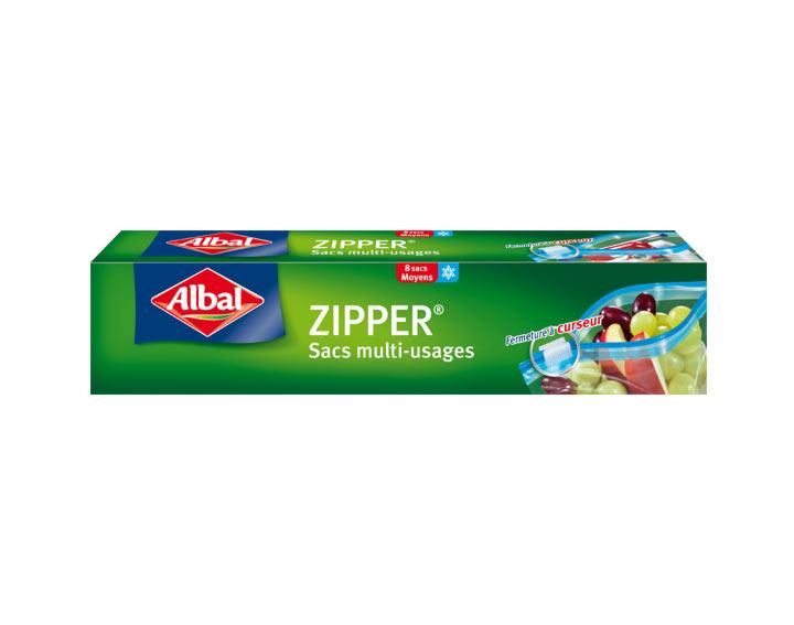 Sacs zipper multi-usages Albal