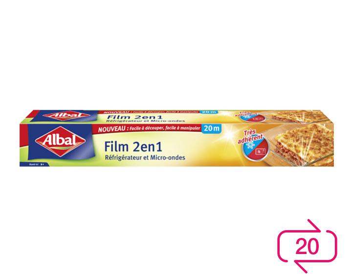 Film 2 en 1 Albal
