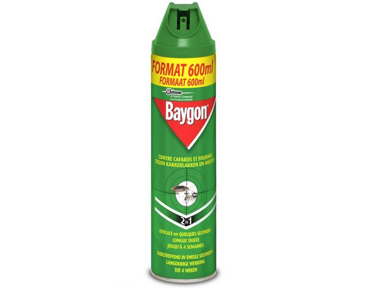 Baygon® contre cafards et fourmis 600ml
