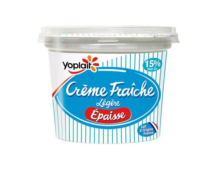 Crème Fraîche Légère Epaisse 15% MG 480g