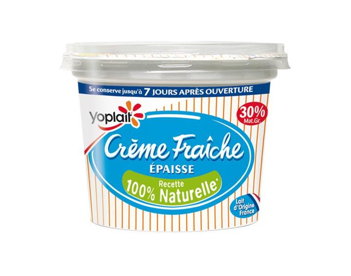 Crème Fraîche Yoplait 30% MG 480g