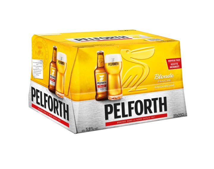 Pelforth Blonde 20x25cl