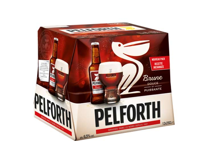 Pelforth Brune12x25cl