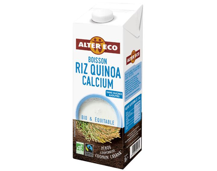 Boisson Riz Quinoa Calcium