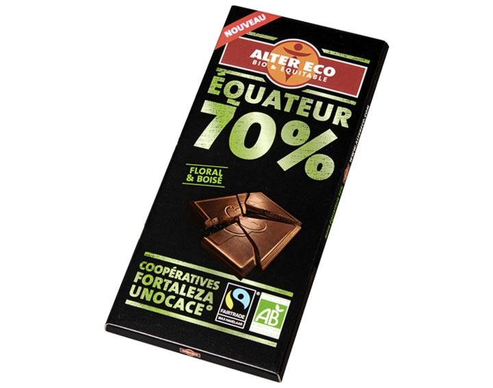 Chocolat Equateur 70%