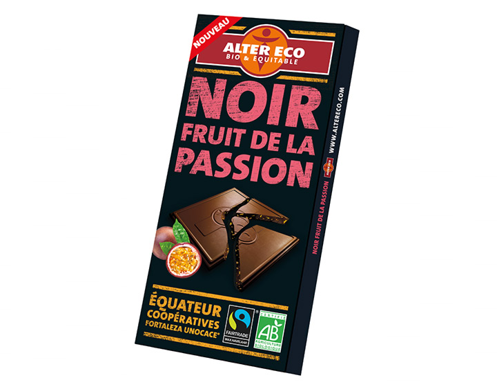 Chocolat Noir Fruit de la Passion