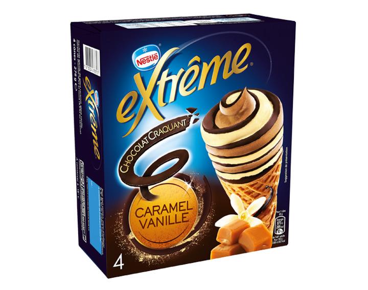 Chocolat Craquant Caramel Vanille 4x69g