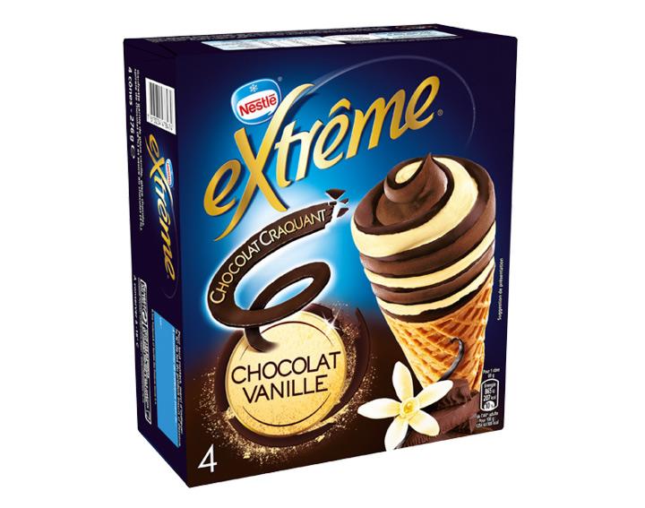 Chocolat Craquant Chocolat Vanille 4x69g
