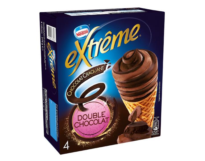Chocolat Craquant Double Chocolat 4x69g