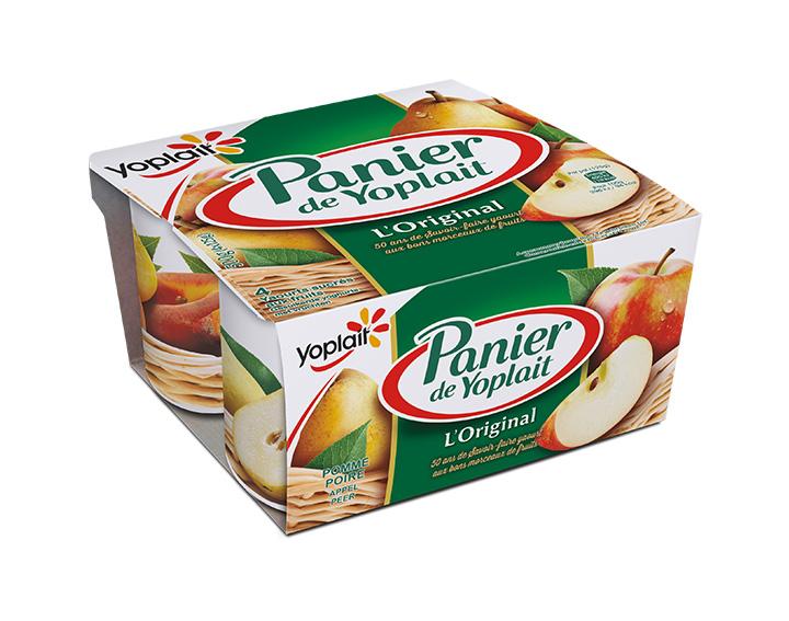 Panier de Yoplait Pomme / Poire