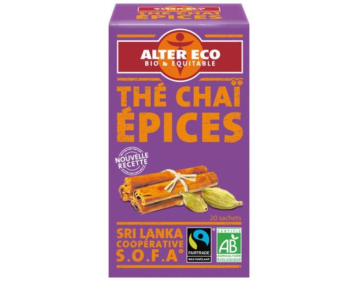 Thé Noir Chaï Epices