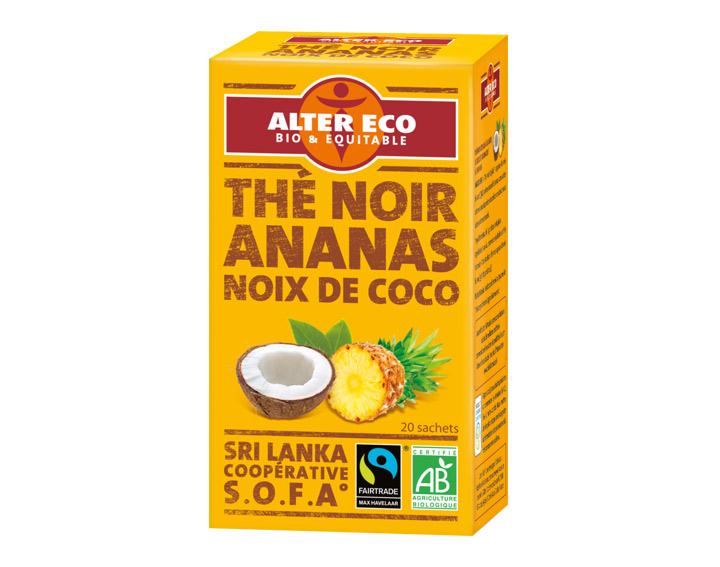 Thé Noir Coco Ananas