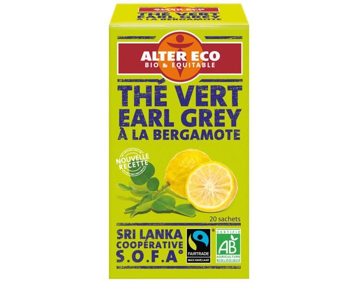 Thé Vert Earl Grey à la Bergamote