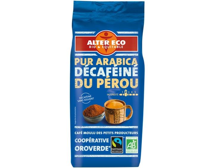 Pur Arabica Décaféiné du Pérou