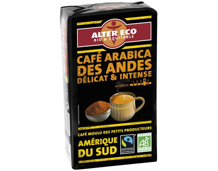 Café Arabica des Andes