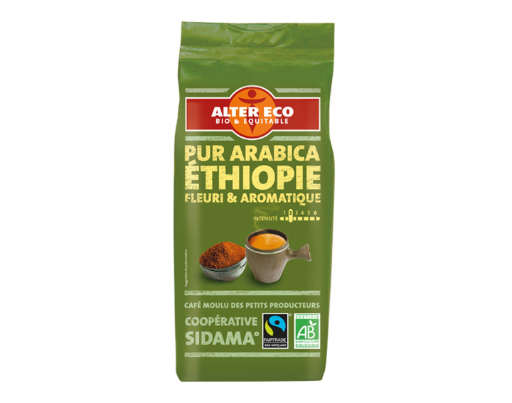 Pur Arabica Ethiopie Fleuri & Aromatique
