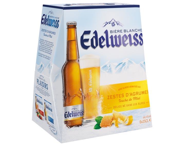 Edelweiss Agrumes et Touche de Miel