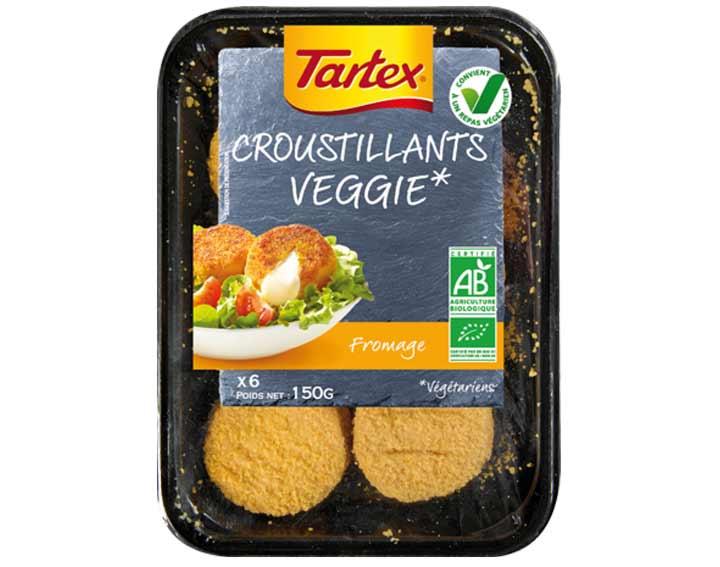 Croustillants au Fromage Veggie