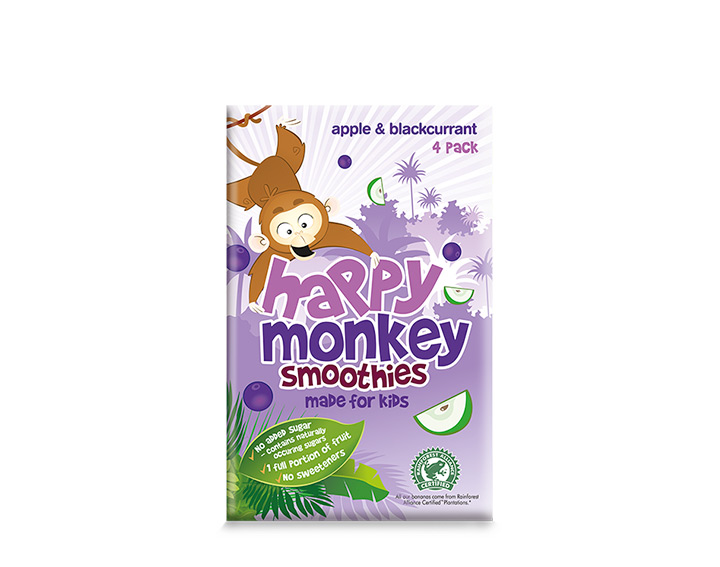 apple & blackcurrant 4x180ml pack