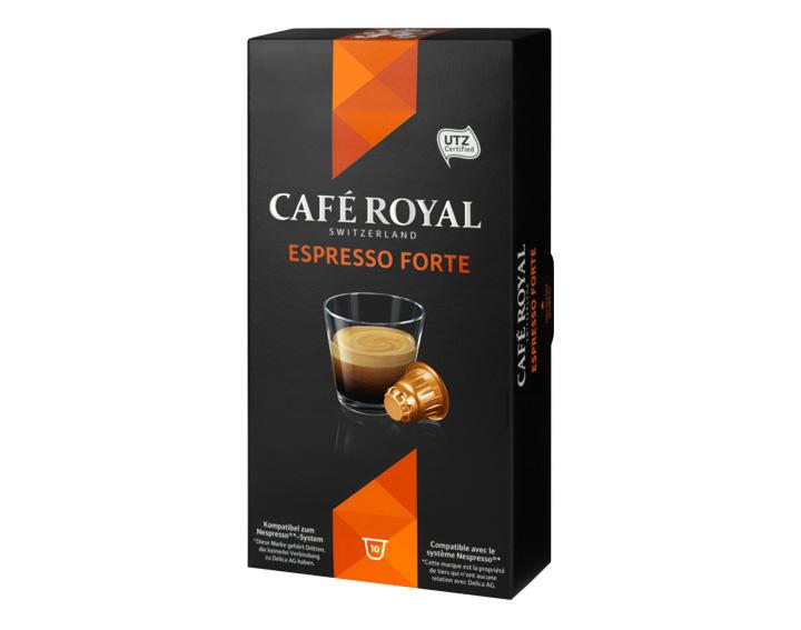 Gamme CLASSIC : Espresso Forte