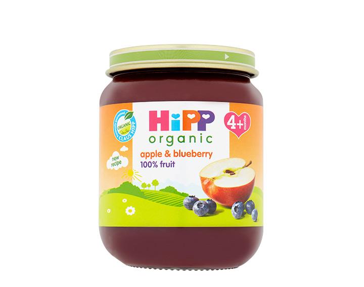 apple & blueberry jar 125g