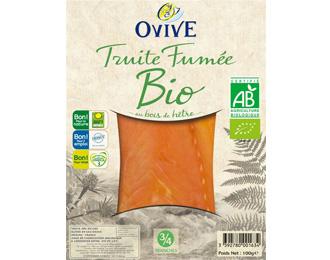 Truite Fumée Bio 3/4 tranches 100g