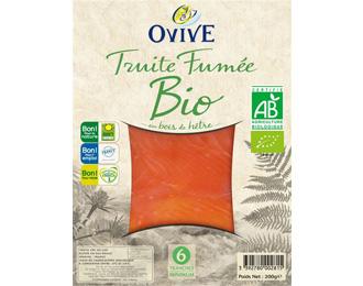 Truite Fumée Bio 6 tranches mini 200g